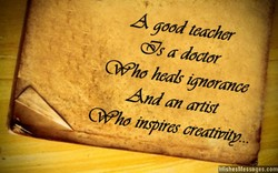 A good teacher 