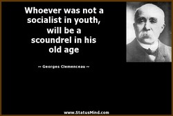 Whoever was not a 