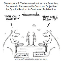 Developers & Testers must not act as Enemies, 
