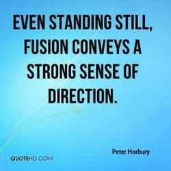 EVEN STANDING STILL, 