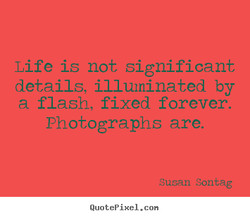 Life is not significant 