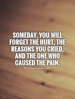 SOMEDAY, YOU WILL 