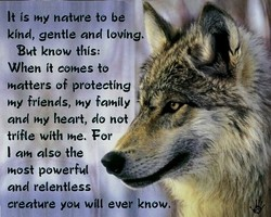 It is nature to b 