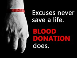 Excuses never