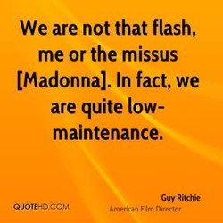 We are not that flash, 