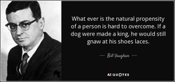 What ever is the natural propensity 