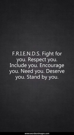 F.R.I.E.N.D.S. Fight for 