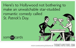 Here's to Hollywood not bothering to 