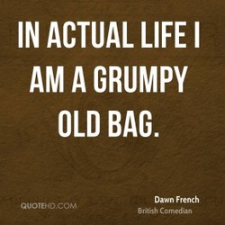 IN ACTUAL LIFE I 