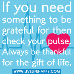 If you need 