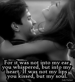 For it was not into my ear 
