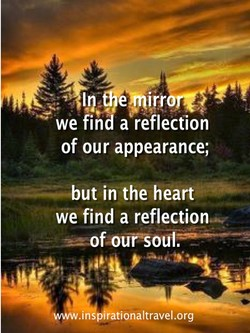 of our appearance; 