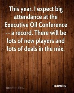 This year, I expect big 