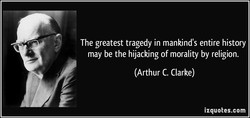The greatest tragedy in mankind's entire history 