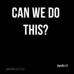 CAN WE DO 