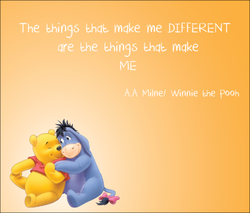 The make me DIFFERENT 