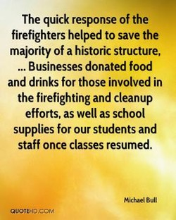 The quick response of the 