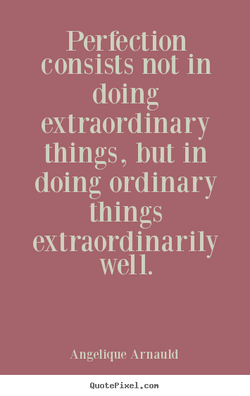 Perfection