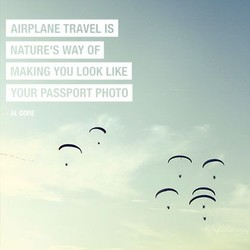 AtRPLANE TRAVEL IS 