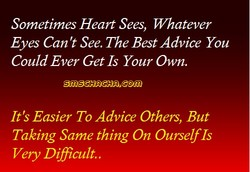 Sometimes Heart Sees, Whatever 