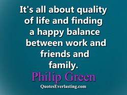 It's all about quality 