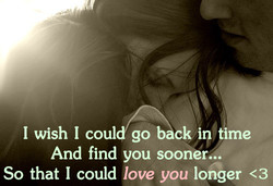 I wish I coul go back ip time