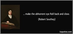 make the abhorrent eye Roll back and close. 