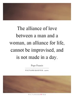 The alliance of love 