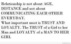Relationship is not about AGE 