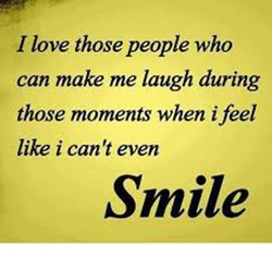 I love those people who 