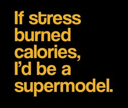 If stress 