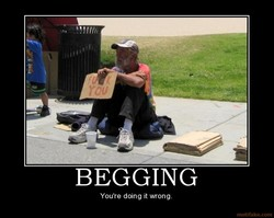 BEGGING 