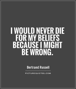 WOULD NEVER DIE 
