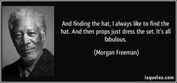 And finding the hat, I always like to find the 
