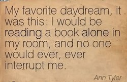 My favorite daydream, it 
