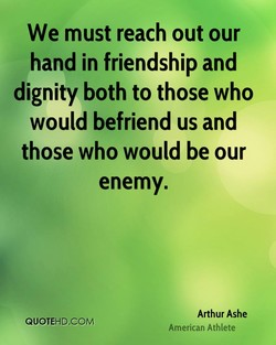 We must reach out our 