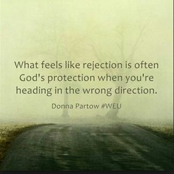 What feels like rejection is often 