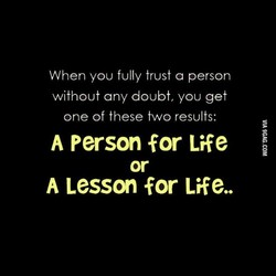When you fully trust a person 