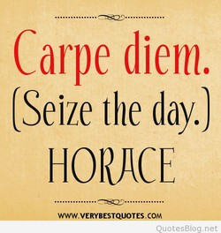 Carpe diem, 