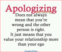 Aqologizing 