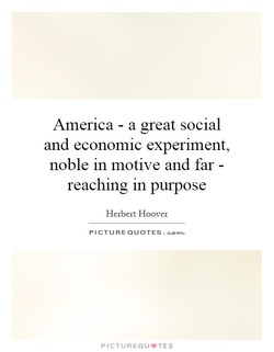 America - a great social 