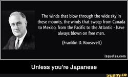 The winds that blow through the wide sky in 