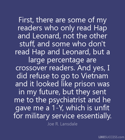 First, there are some of my 