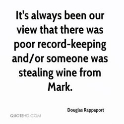 It's always been our 