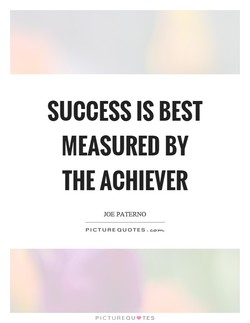 SUCCESS IS BEST 
