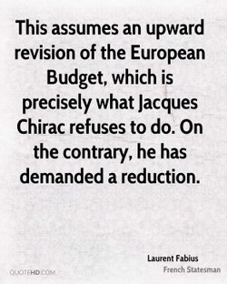 This assumes an upward 