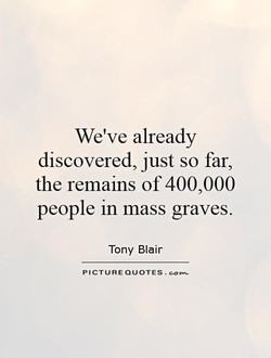 We've already 