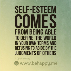 SELF-ESTEEM 