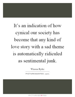 It's an indication of how 