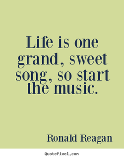 Life is one 